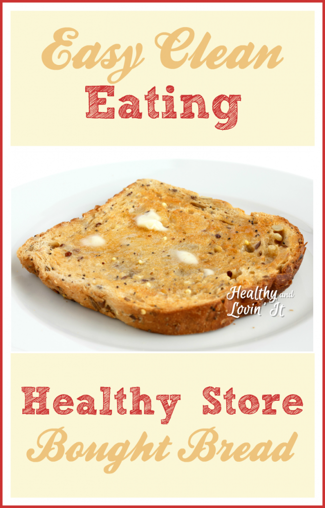 healthy store bought bread