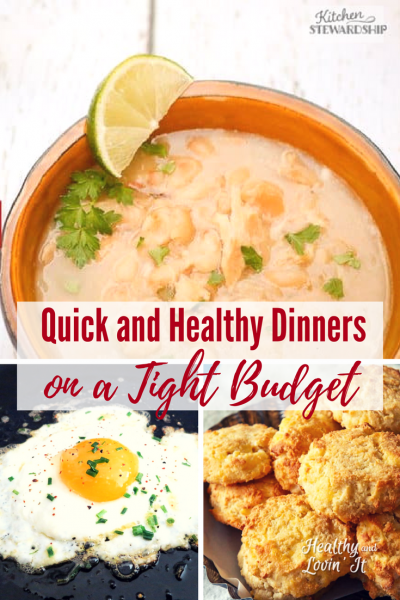 Super Quick and Healthy Dinners on a Tight Budget
