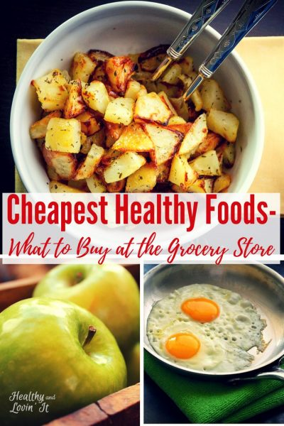 Cheap Clean Eating Grocery List-Free Printable!