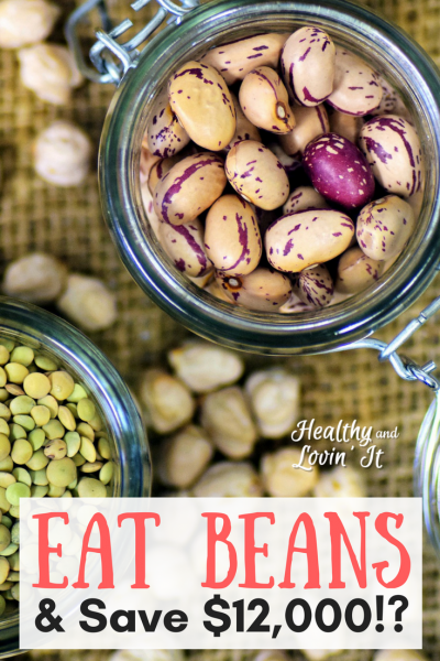 Frugal Meals-Eat Beans and Save 12,000!?