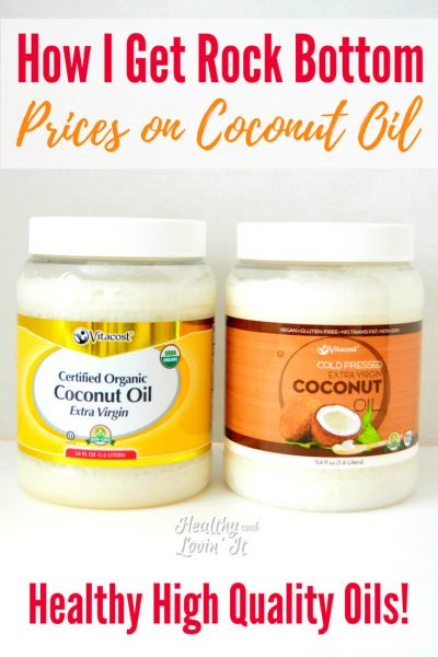 How I Get the Best Coconut Oil Price Online (for Extra Virgin Cold Pressed Oil)