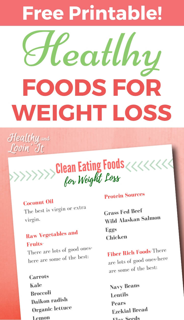 Fan image throughout printable clean eating grocery list