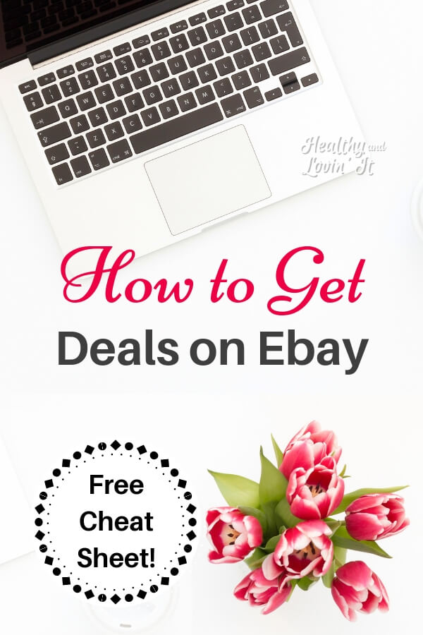 Find out how to get bargains when buying items on Ebay. Shopping is a whole lot of fun when you can get a deal! After you read all the Ebay tips and tricks, grab your free printable Ebay Shopping Cheat Sheet.