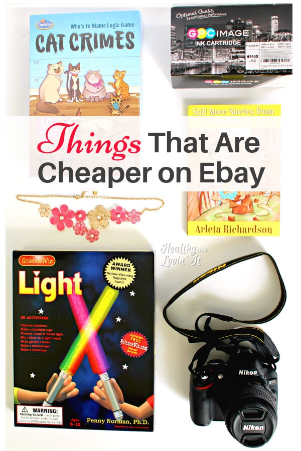 Ebay is an awesome site to do your online shopping. Ebay has some great deals! Here are some of the best products to buy on Ebay to save some money. These are some of my favorite Ebay frugal finds!