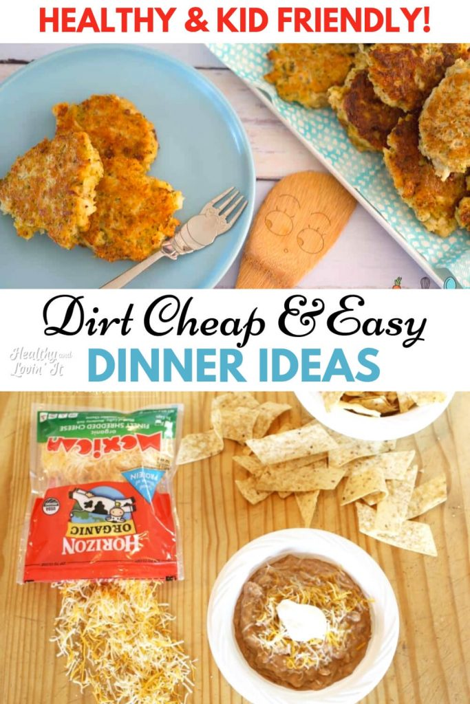 cheap easy meals on a budget