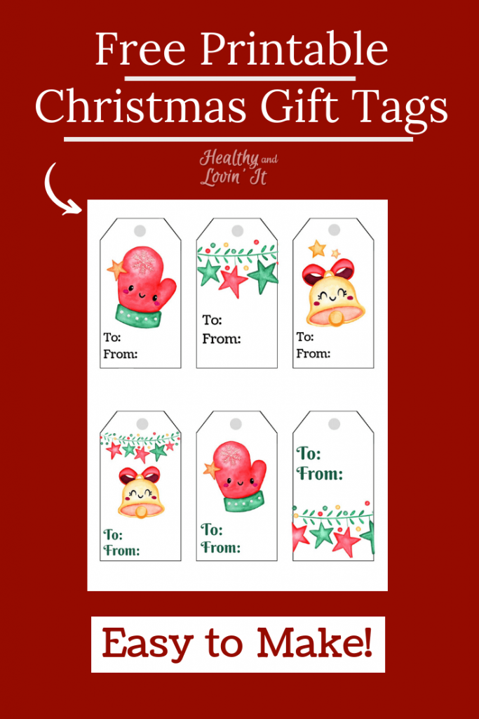 Free Printable Christmas Gift Tags Super Cute And Simple Diy