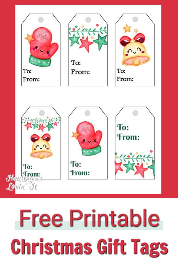 Free Printable Christmas Tags.Free Printable Christmas Gift Tags Super Cute And Simple Diy