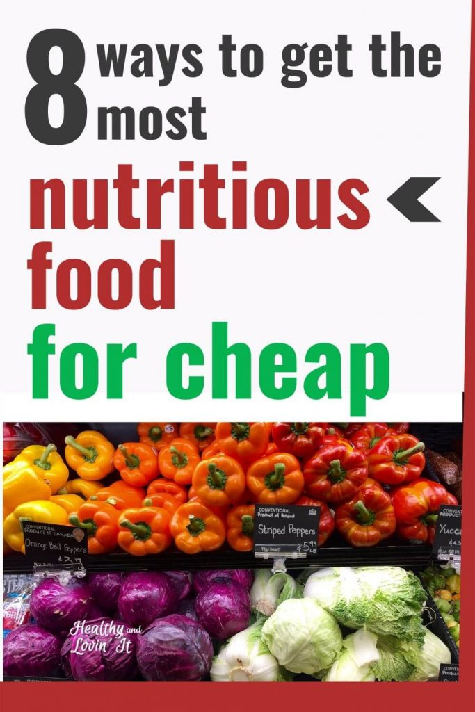 the cheapest most nutritious food