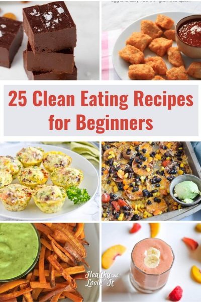 easy clean eating recipes for beginners kids