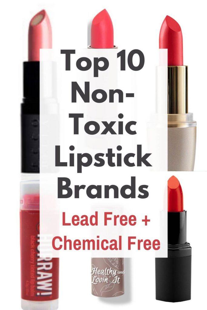 lead free lipstick brands