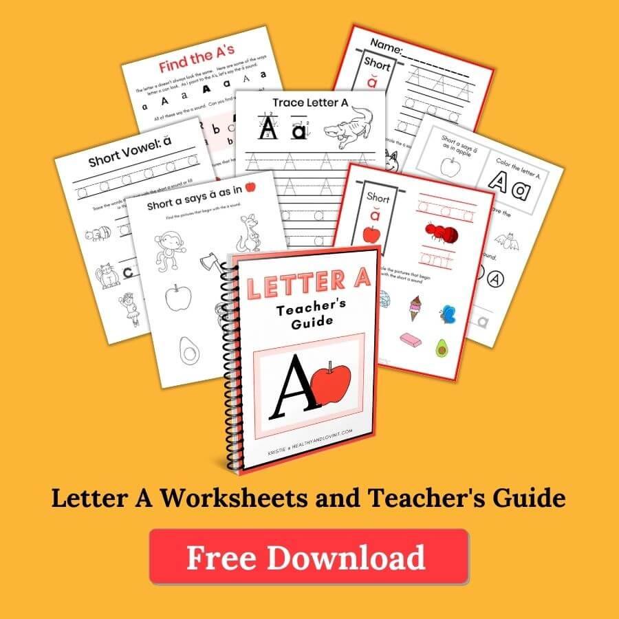 letter a worksheets pdf
