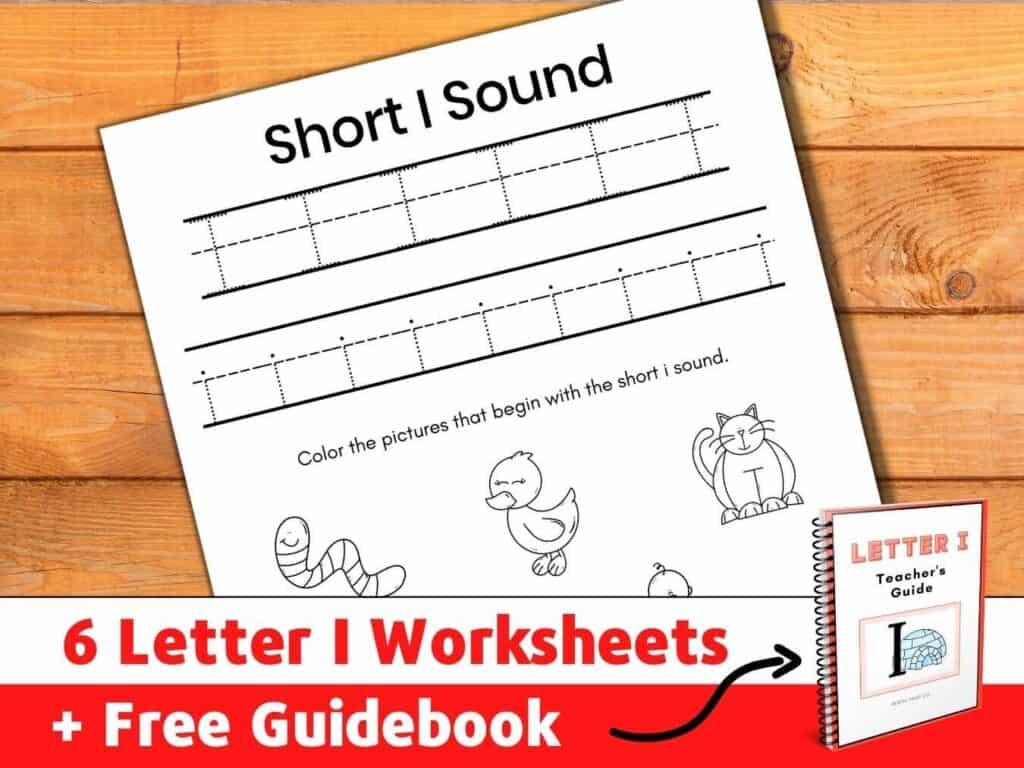 letter i worksheets pdf kindergarten alphabet
