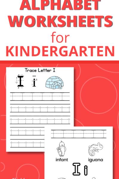 letter i worksheets pdf