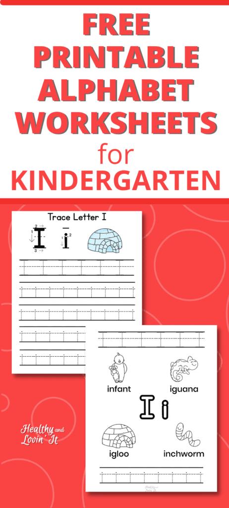 free printable letter I worksheets