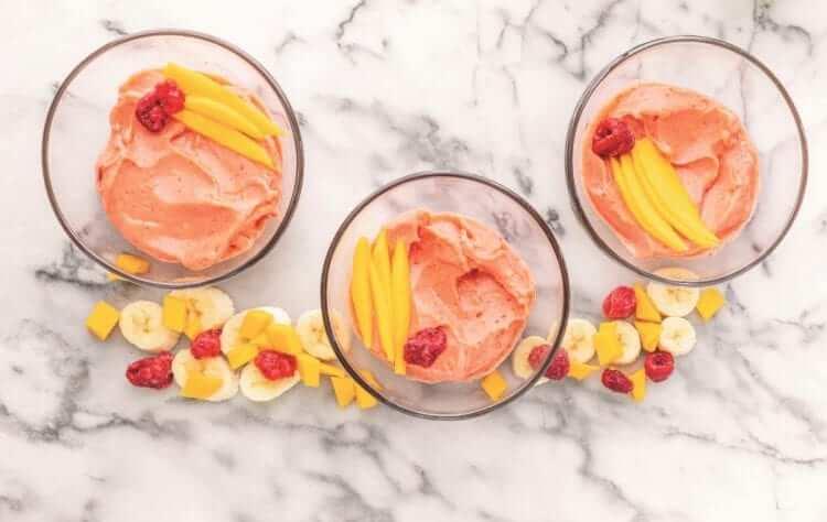 fruit sweetened dessert