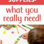 essential homeschool supplies